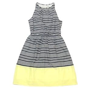 NWOT Old Navy A-Line Keyhole Striped Dress